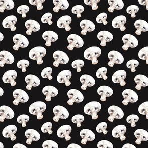 Mushroom Pattern Dark
