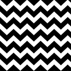 Chevron - Black and White