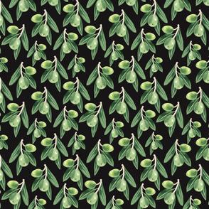 Olive Pattern Dark