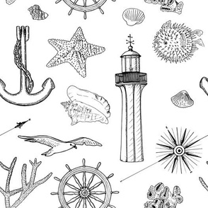sea set pattern