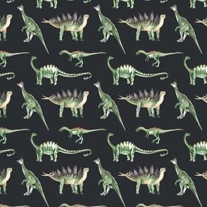 Green Dino Dark