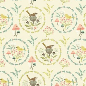 Nesting Birds: Straw