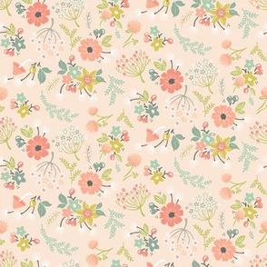 Woodland Floral: Blush