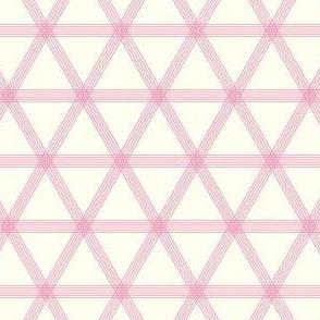 Triangle Checks Pink