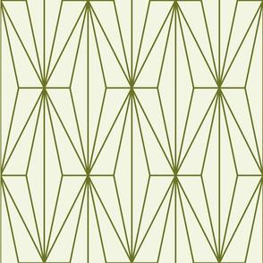 Deco Diamonds   Moss