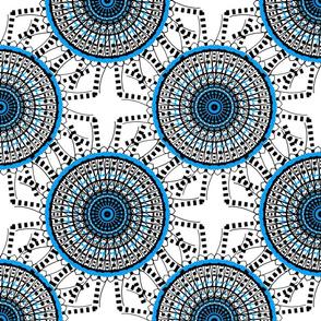 Spiral - Blue