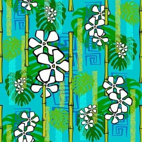 Jungledelic blue surf