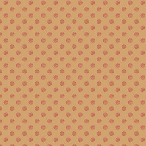 Dots beige and pink 2027-20