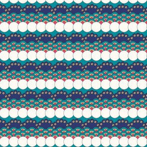 Floral Waves - Turquoise