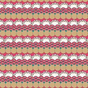 Floral Waves - Azalea