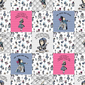 alice patchwork pink colour
