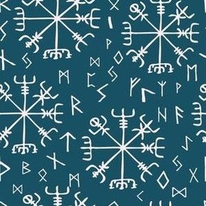 Vegvísir-viking compass