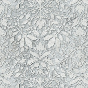 Plaster relief damask