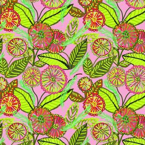 Pompom florals