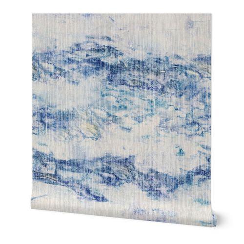 Blue Mountain Grasscloth