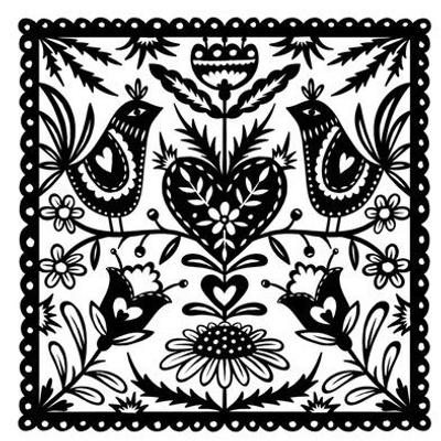 Folk Art Papercut