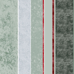 wallpaper sage and red stripes