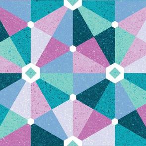 playful hexagons - cool