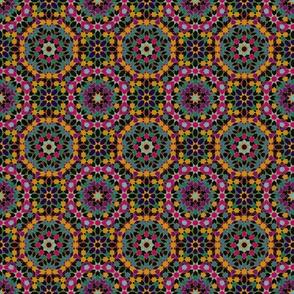 Retro 80s Geometric Tile