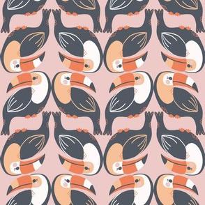 toucan stack // tropical birds