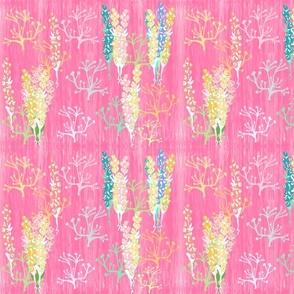 pink fringe minty stripe blue shelly - LG 1365