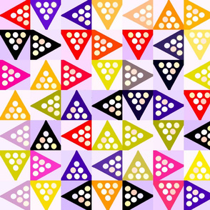 COLORFUL TRIANGLES TWO