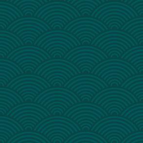 Japan pattern green