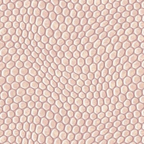 ★ REPTILE SKIN V1 ★ Ecru, Blush Pink, Pale Mauve - Large Scale / Collection : Snake Scales – Punk Rock Animal Prints 4