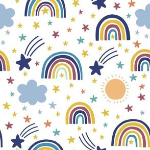 Rainbows, Stars, Clouds