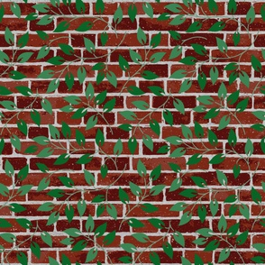 Red Brick and Ivy Large