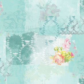victorian shabby chic mint smaller
