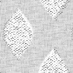Mid century textured diamonds-jumbo