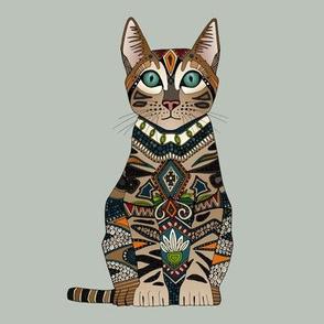 bengal cat mercury swatch