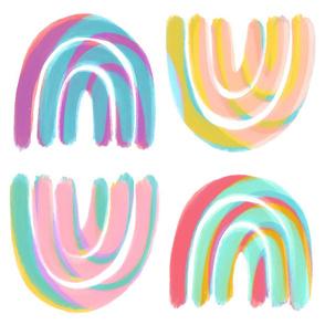 Rainbows Lollipop Swirl