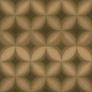 Brown Sugar Geometric Sandstone