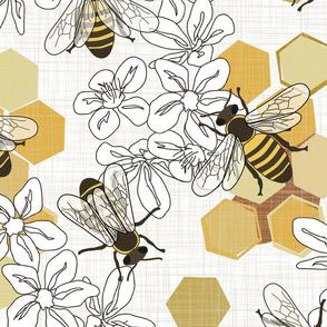 Save The Honey Bees  - Jumbo