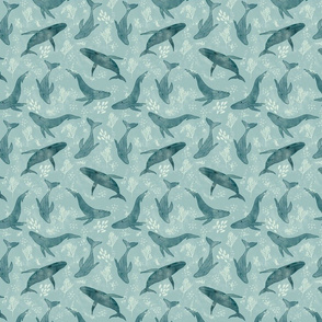 Magestic Whales - Small Scale