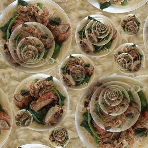 Roast Duck & Veggie Noodle Soup