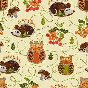 Hedgehog & Owl Cream