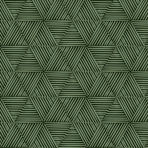 Honeycomb Woven Grass - Green