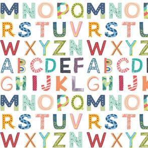 Alphabet Block Small