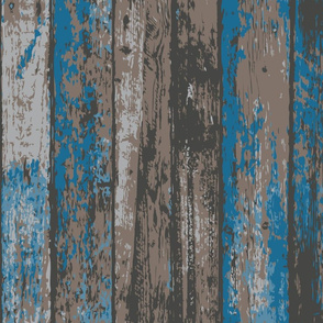 aged rustic wooden planks