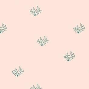 Aloe vera succulent boho garden minimal Scandinavian style plants abstract modern nursery beige sand forest green