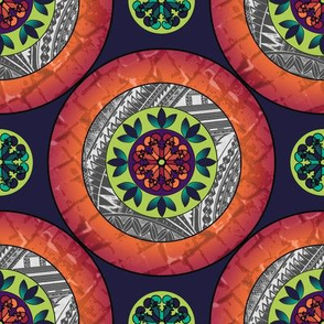 Mandala - Orange