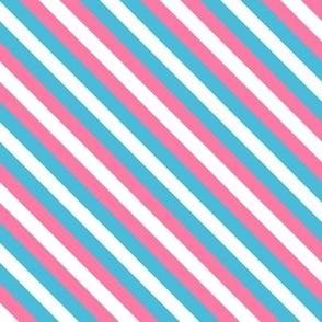 Trans Pride Stripes (diagonal)