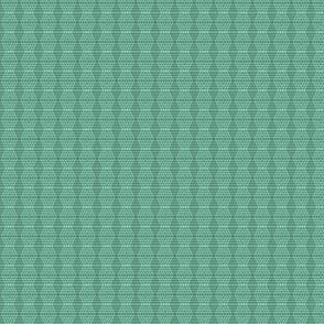 JP12 - Miniature - Buffalo Plaid Diamonds on Stripes in Grey-Green