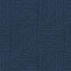 Blue Bamboo Matting
