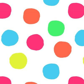 Big Bold Polka Dot Toss Multi