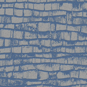 Old embossed stone wall