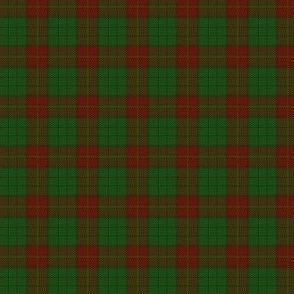 """Ulster district tartan, 1"""" red - muted"""